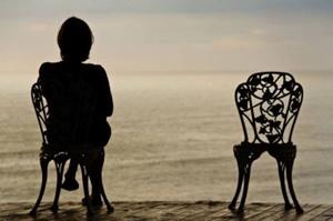 na solidão é comum um sentimento de vazio, a solidão vai mais além da necessidade de uma companhia